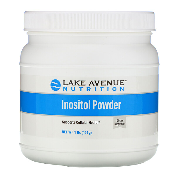 Inositol Powder, Unflavored, 16 oz (454 g)