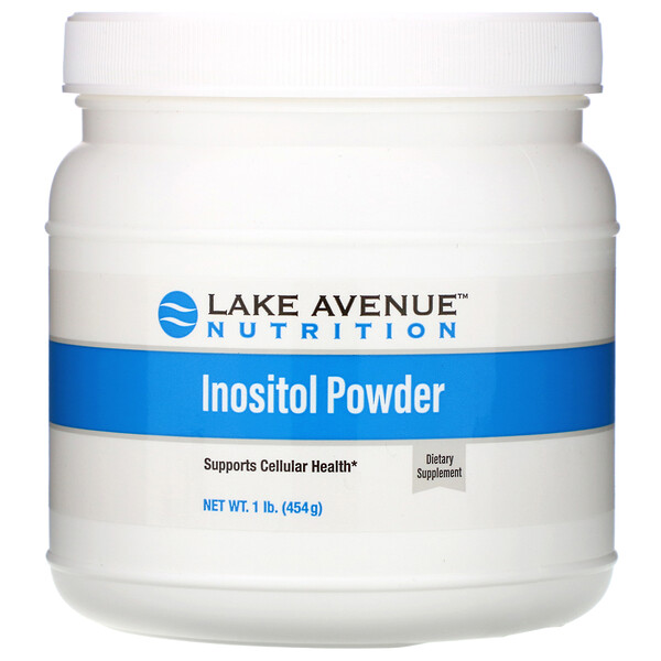 Lake Avenue Nutrition, Inositol Powder, Unflavored, 16 oz (454 g)