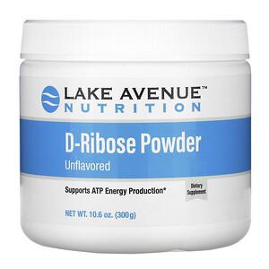 Lake Avenue Nutrition, D-Ribose Powder, Unflavored, 10.6 oz (300 g) отзывы