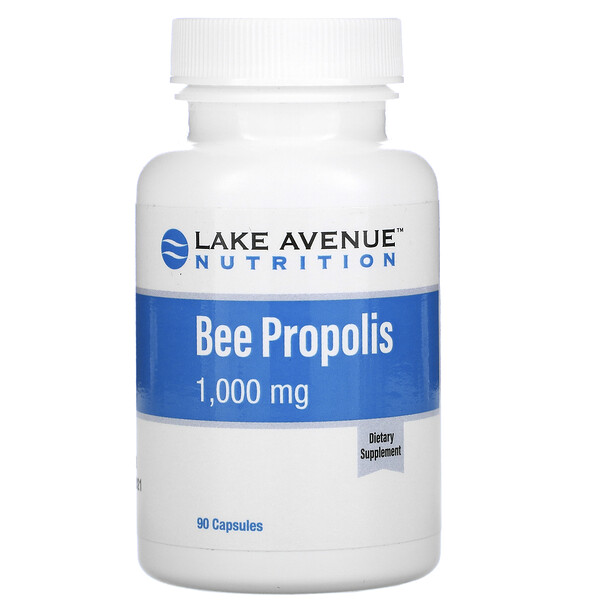 Bee Propolis, 5:1 Extract, Equivalent to 1,000 mg, 90 Veggie Capsules