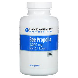 Lake Avenue Nutrition, Bee Propolis, Bienenpropolis, 5:1Extrakt, entspricht 1.000mg, 240Kapseln