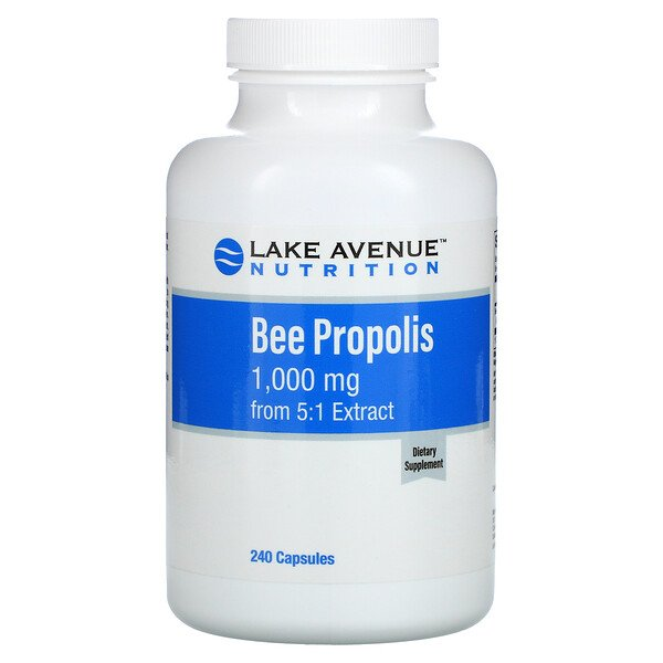 Bee Propolis, 5:1 Extract, Equivalent to 1,000 mg, 240 Capsules
