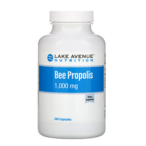 Lake Avenue Nutrition, Bee Propolis, 5:1 Extract, 1,000 mg, 240 Veggie Capsules'