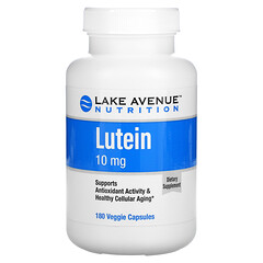 Lake Avenue Nutrition, Lutein, 10 mg, 180 Veggie Capsules
