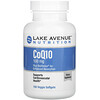 Lake Avenue Nutrition, 含有 BioPerine 的辅酶 Q10,100 毫克,150 粒素食软胶囊