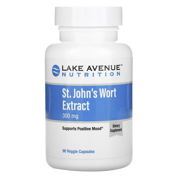 Lake Avenue Nutrition, St. John's Wort Extract, 300 mg, 90 Veggie Capsules