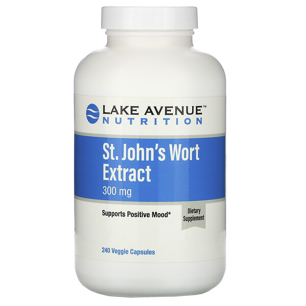 Lake Avenue Nutrition, St. John's Wort Extract, 300 mg,  240 Veggie Capsules