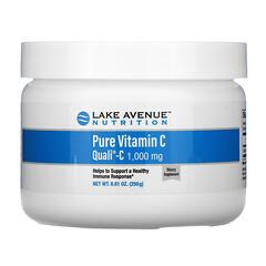 Lake Avenue Nutrition, Quali®-C (クオリC)ピュアビタミンCパウダー、1,000mg、250g (8.81オンス)