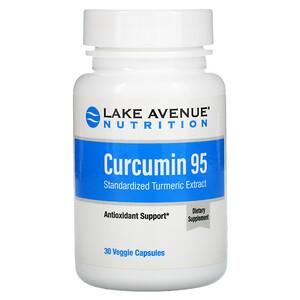 Lake Avenue Nutrition, Curcumin 95, 500 mg, 30 Veggie Capsules