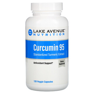 Lake Avenue Nutrition, Curcumin 95, 500 mg, 120 Veggie Capsules