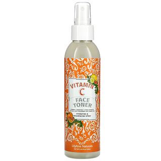 Lilyana Naturals, Vitamin C Face Toner, 6.35 fl oz (188 ml)