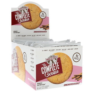 Lenny & Larry's, The Complete Cookie Snickerdoodle, 12 Cookies, 2 oz (57 g) Each