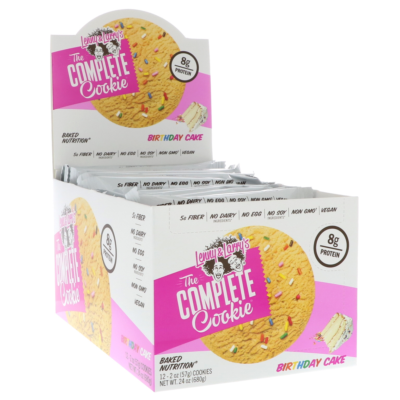 Lenny Larrys The Complete Cookie Birthday Cake 12 Cookies 2