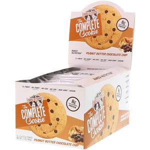 Ленни энд Лэррис, The Complete Cookie, Peanut Butter Chocolate Chip, 12 Cookies, 2 oz (57 g) Each отзывы покупателей