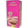 Lenny & Larry's, Muscle Brownie, Cookies & Cream, 12 Brownies, 2.82 oz (80 g) Each (Discontinued Item)