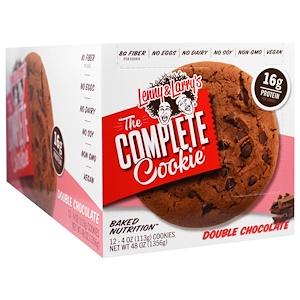 Ленни энд Лэррис, The Complete Cookie, Double Chocolate, 12 Cookies, 4 oz (113 g) Each отзывы покупателей