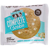 Lenny & Larry's, The COMPLETE Cookie, White Chocolaty Macadamia, 12 Cookies, 4 oz (113 g) Each
