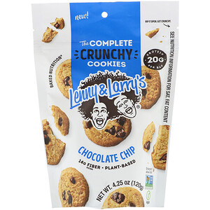 Lenny & Larry's, The Complete Crunchy Cookies, Chocolate Chip, 4.25 oz (120 g)'