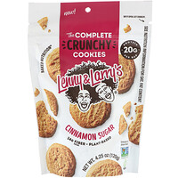 Lenny & Larry's, The Complete Crunchy Cookies, Cinnamon Sugar, 4.25 oz (120 g)