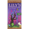 Lily's Sweets, 40% Chocolate & Milk, Salted Almond, 3 oz (85 g)