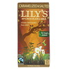 Lily's Sweets, 40% Chocolate & Milk Bar, Caramelized & Salted, 2.8 oz (80 g)