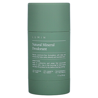 Lumin, Natural Mineral Deodorant, 1.7 oz (50 g)