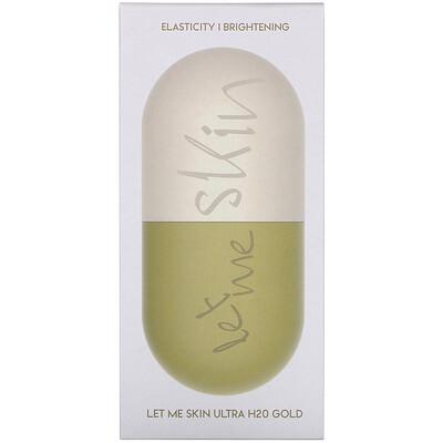 Купить Let Me Skin Ultra H20 Modeling Mask, Gold, 2 Set