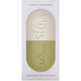 Let Me Skin, Ultra H20 Modeling Mask, Gold, 2 Set