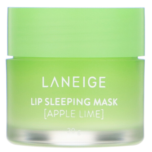 Lip Sleeping Mask, Apple Lime, 20 g