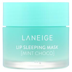 Ланэж, Lip Sleeping Mask, Mint Choco, 20 g отзывы