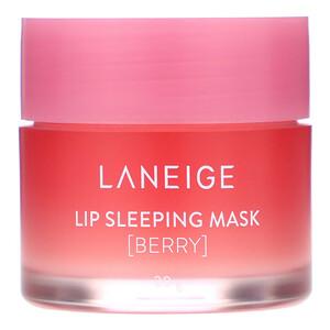 Ланэж, Lip Sleeping Mask, Berry, 20 g отзывы