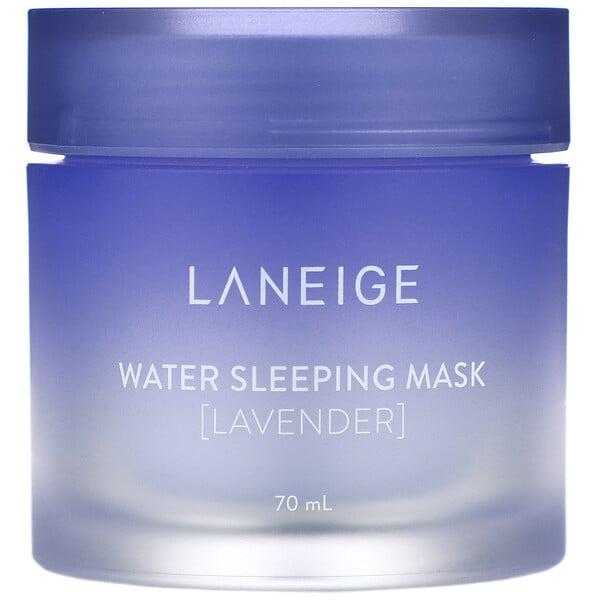 Water Sleeping Mask, Lavender, 2.3 fl oz (70 ml)