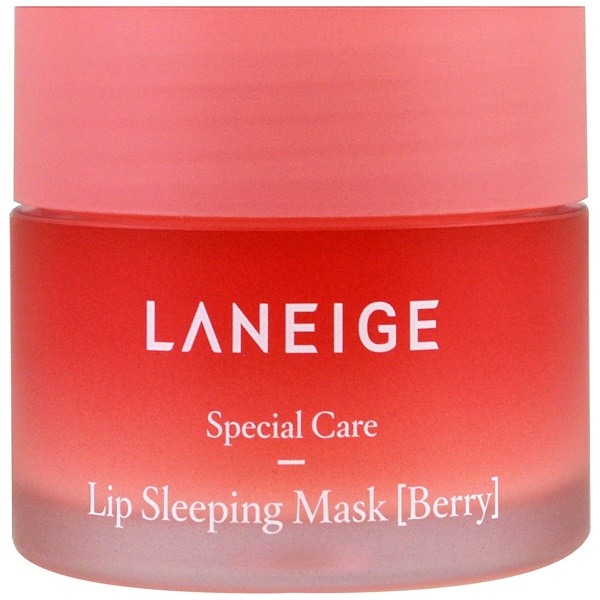 Laneige, Lip Sleeping Mask, Berry, 20 g (Discontinued Item)