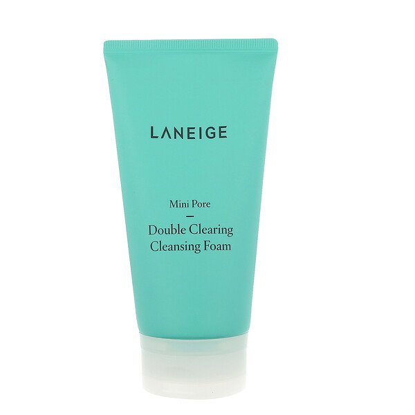 Laneige, Mini Pore, Double Clearing Cleansing Foam, 150 ml (Discontinued Item)