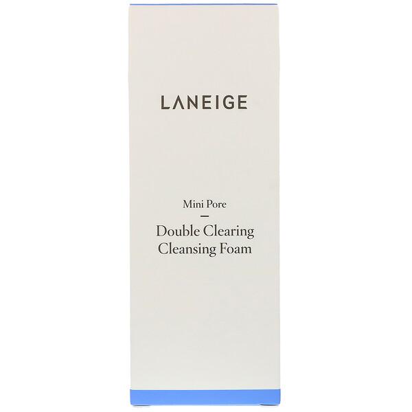 Laneige, Мини-поры, двойная осветляющая очищающая пена, 150 мл (Discontinued Item)