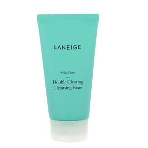 Ланэж, Mini Pore, Double Clearing Cleansing Foam, 150 ml отзывы