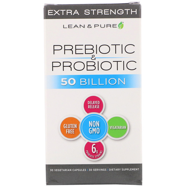 Prebiotic & Probiotic Complete, Extra Strength, 50 Billion, 30 Vegetarian capsules