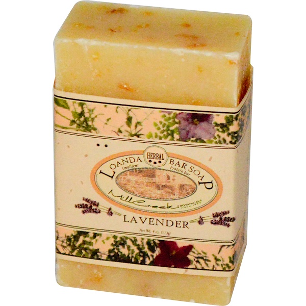 Loanda Hand Crafted Natural Soaps, Protein Bar Soap, Lavender, 4 oz (113 g) (Discontinued Item)