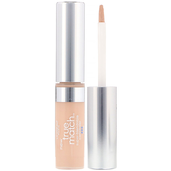 L'Oreal, True Match Super-Blendable Concealer,  C1-2-3 Cool Fair/Light, .17 fl oz (5.2 ml) (Discontinued Item)