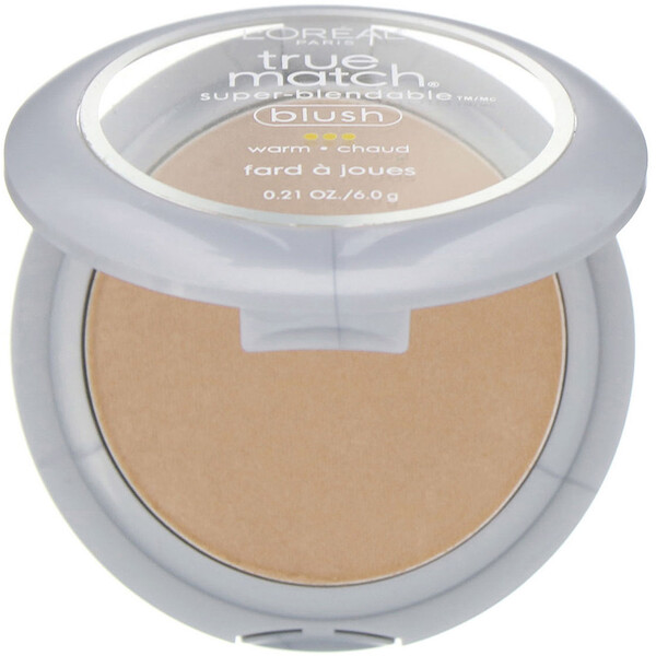 L'Oreal, True Match Super-Blendable, Blush, 1-2D Bare Honey, 6 g