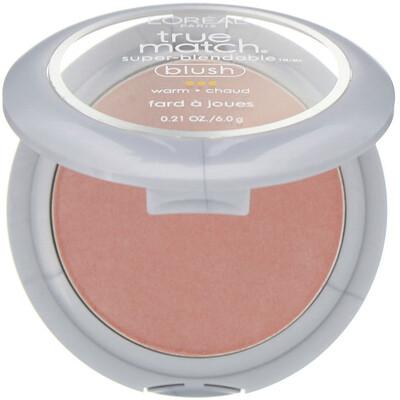 Купить L'Oreal Румяна True Match Super-Blendable Blush, оттенокW5-6 «Нежный песочный», 6г
