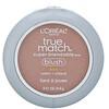 L'Oreal, Румяна True Match Super-Blendable Blush, оттенокW5-6 «Нежный песочный», 6г