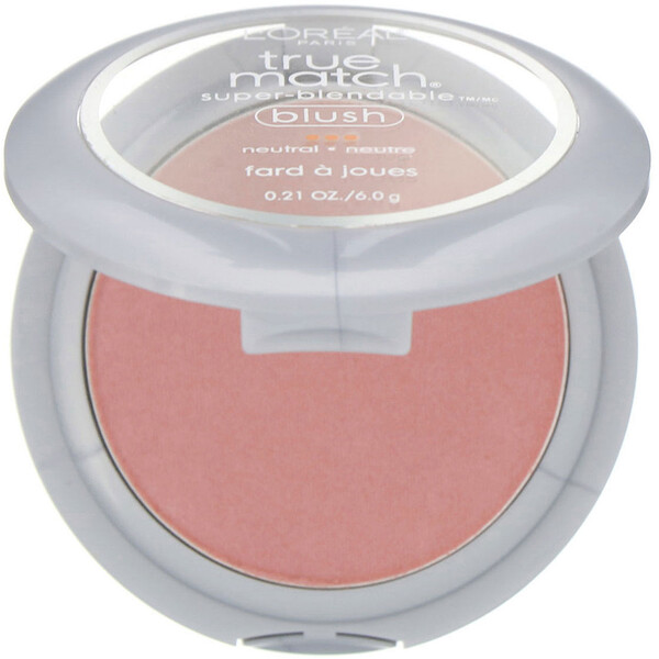 L'Oreal, True Match Super-Blendable Blush, N5-6 Apricot Kiss , 0.21 oz (6 g)