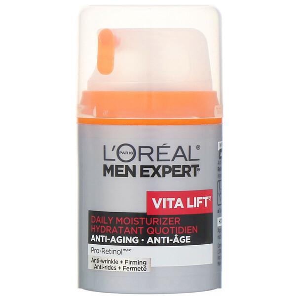Men Expert, Vita Lift, Daily Moisturizer, Anti-Wrinkle & Firming, 1.6 fl oz (48 ml)