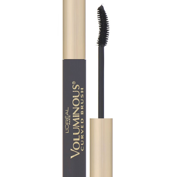 Voluminous Curved Mascara, 340 Black, 0.28 fl oz (8 ml)
