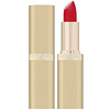 L'Oreal, Color Rich Lipstick, 350 British Red, 0.13 oz (3.6 g)