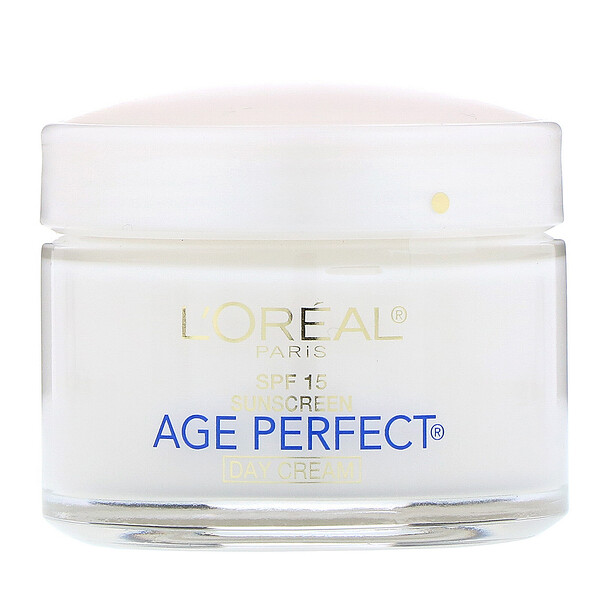 L'Oreal, Age Perfect, Day Cream, SPF 15, 2.5 oz (70 g)
