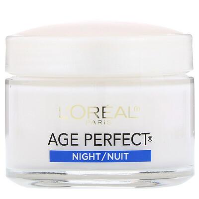 L'Oreal AgePerfect, ночной крем, 70г