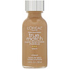 L'Oreal, True Match Super-Blendable Makeup, W8 Cream Café, 1 fl oz (30 ml)