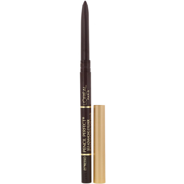 L'Oreal, Pencil Perfect, Self-Advancing Eyeliner, 130 Espresso, .01 oz (280 mg)